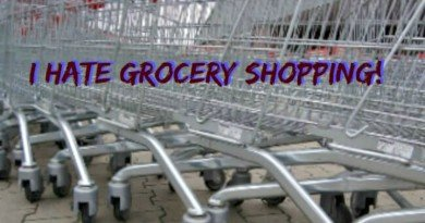 Traffic Jam of Grocery Carts