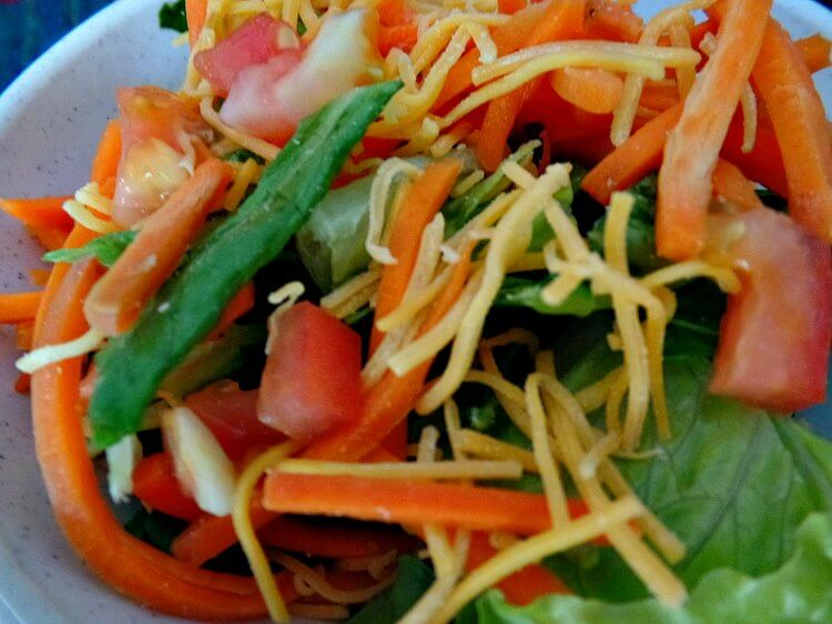 Side Salad with Dinner