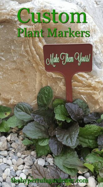 Custom Plant Markers - Make them yours!