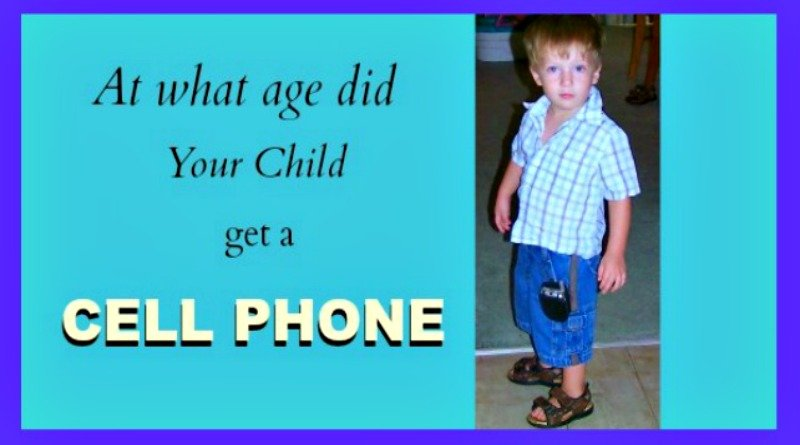 CELL PHONES FOR KIDS THESE DAYS
