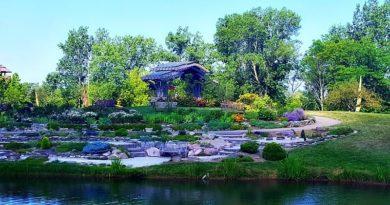Cox Arboretum Rock Gardens