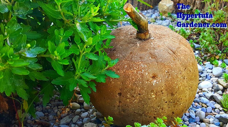 How to make hypertufa pumpkins - So Easy and Fun