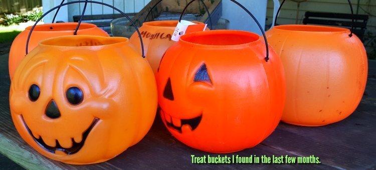 How to make hypertufa pumpkins - my molds