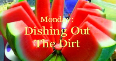 Monday: Dishing Out More Dirt