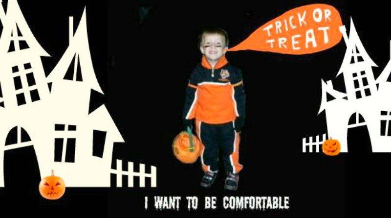 No Fuss Toddler's Halloween Costume
