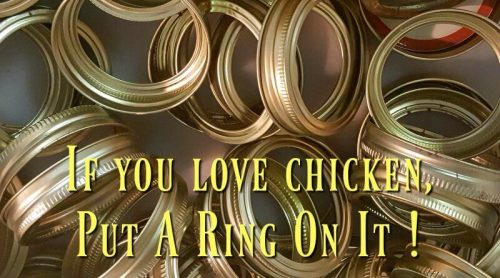Pressure Canning Chicken – Love Chicken? Put A Ring On It!