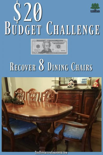 Recover Dining Chair - 8 for $20 - Challenge Accepted