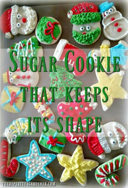 Sugar cookie that keeps its shape - we all need it!(1)(1)