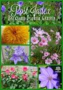 Backyard Flower Garden Post Index