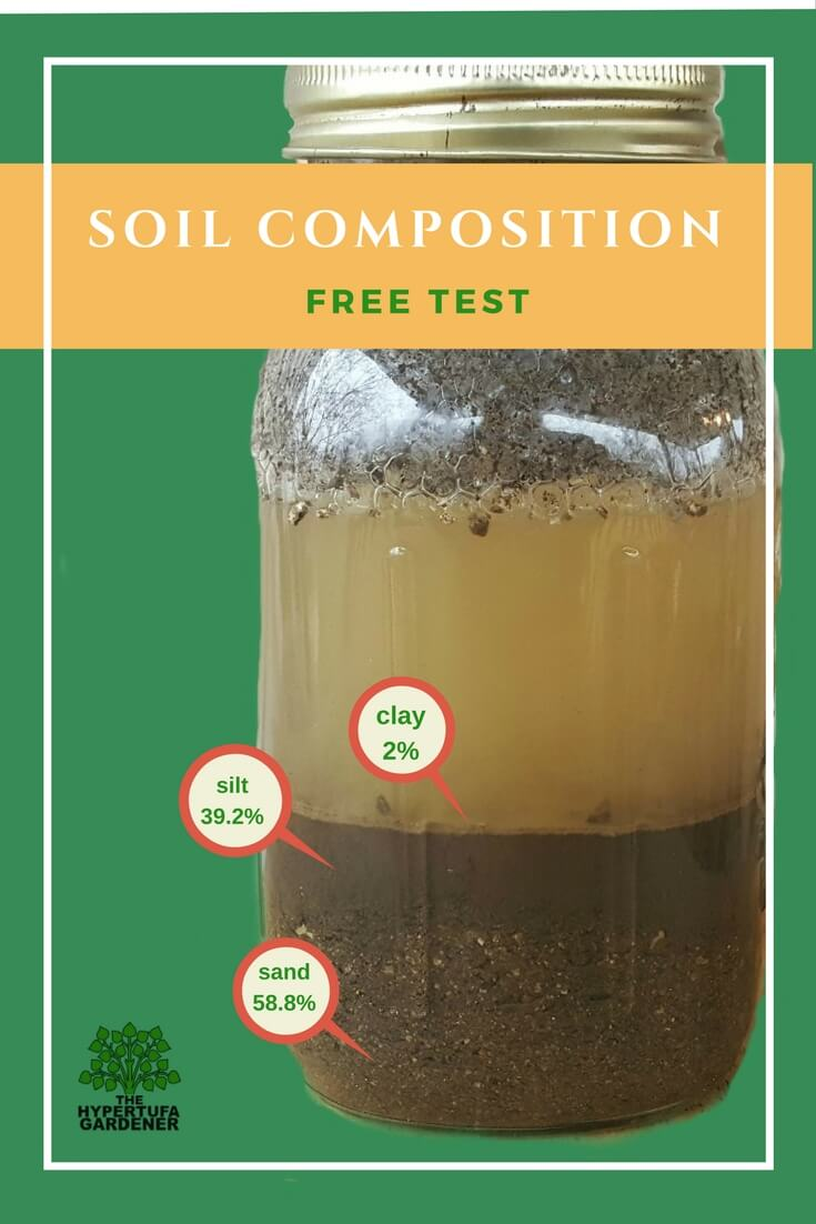 image of soil test in mason jar
