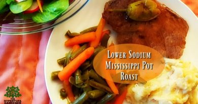 Lower Sodium Mississippi Pot Roast - Slow Cooker Meal(1)