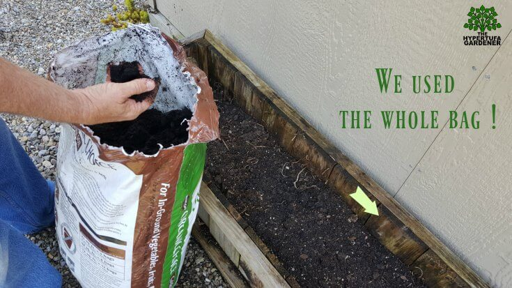 How to replant an outgrown planter - refilling with fresh soil