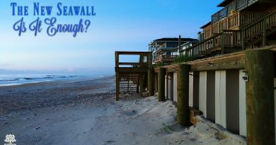Hurricane Matthew Lasting Effects - The New Seawall