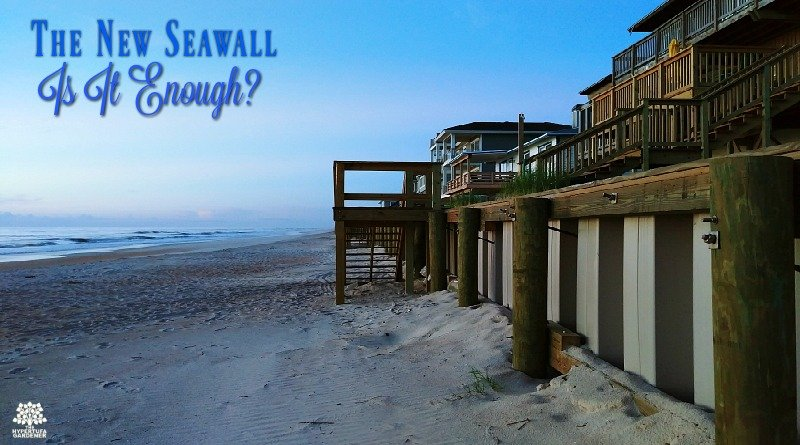 Hurricane Matthew Lasting Effects - The New Seawall