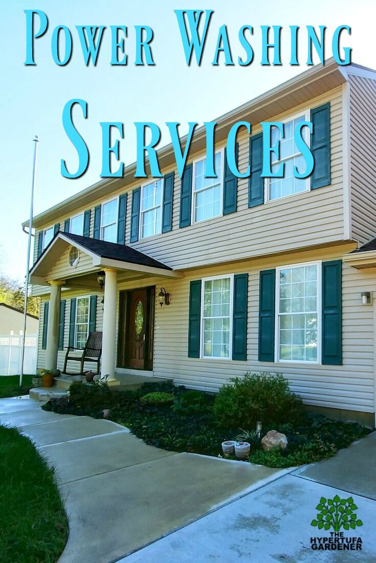 Clean House from power washing services