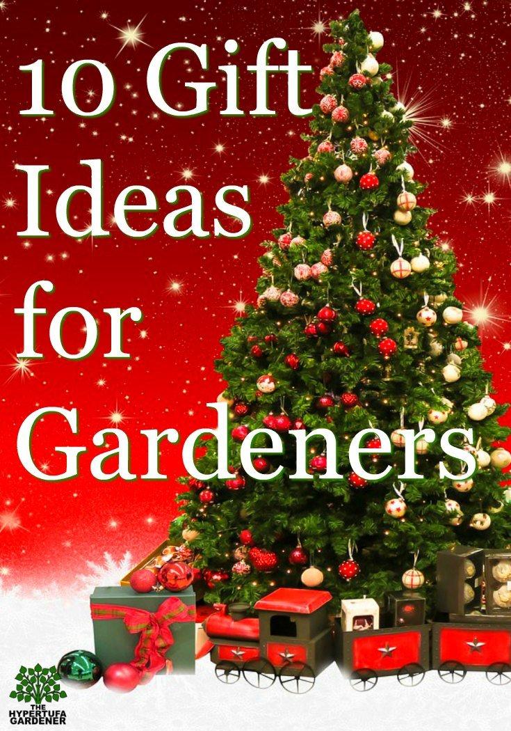 Gardener's Christmas WishList - included some for the Hypertufa makers too!
