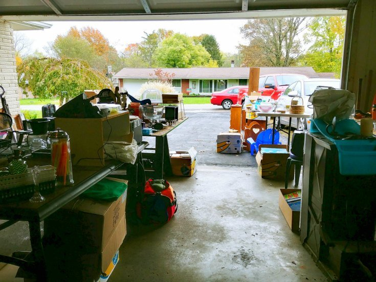 Have a garage sale - Tips for selling your house