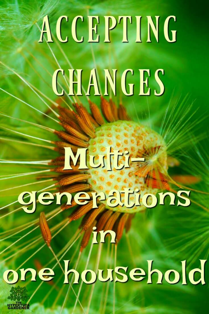 Accepting changes - Moving into a multi-generational household