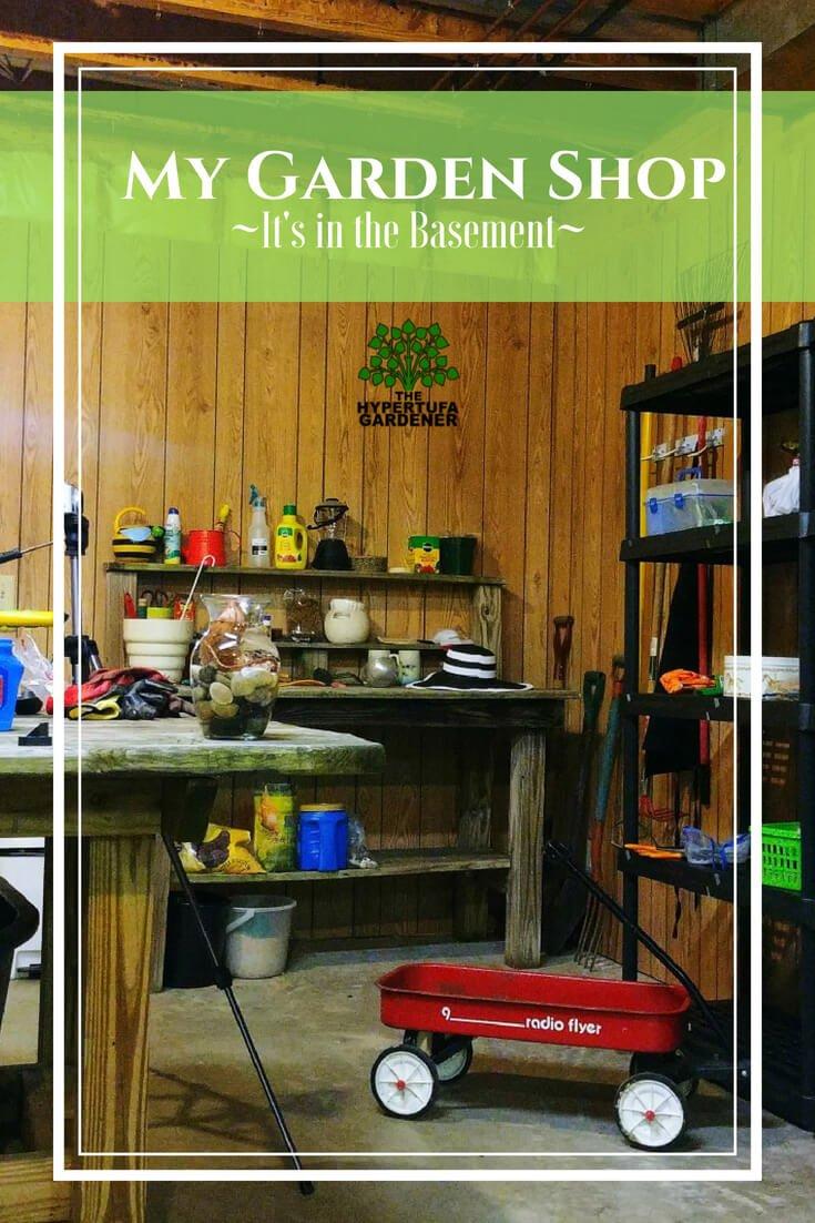 My Garden Shop - It's now in the basement