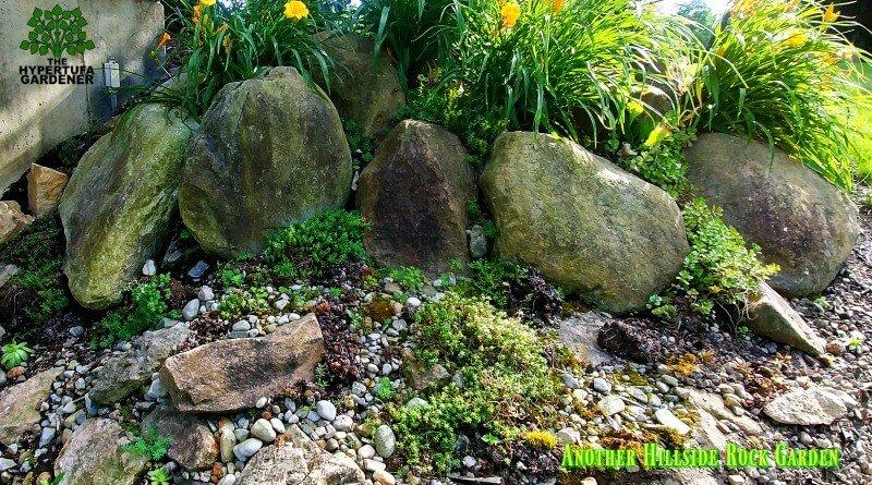 Another hillside rock garden