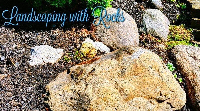 Landscaping with rocks and boulders