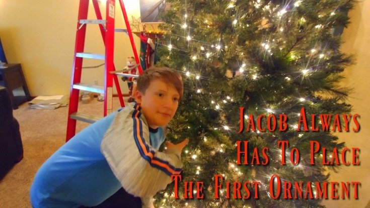 Christmas decorations - Jacob first