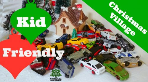 Kid-Friendly Christmas Village! Traffic in the Streets!