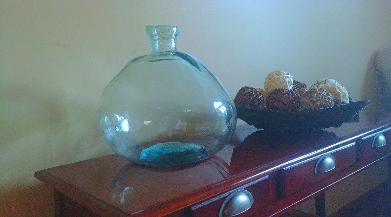 Making an enclosed bottle garden