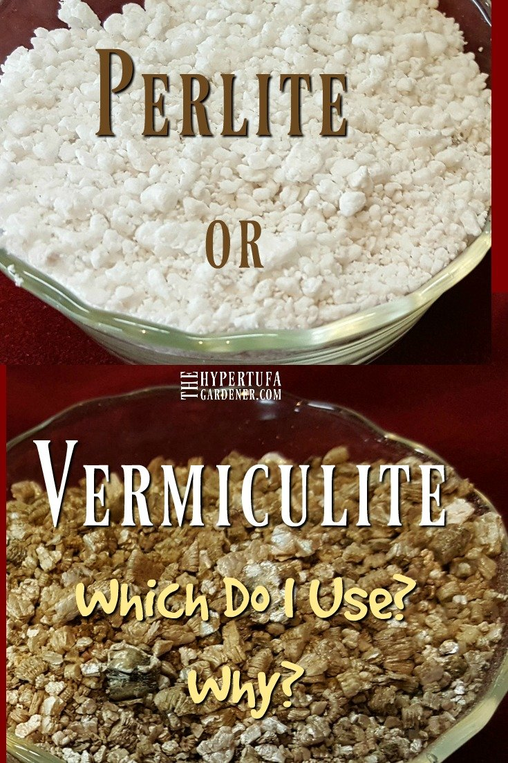 Perlite or Vermiculite - What are the vermiculite uses