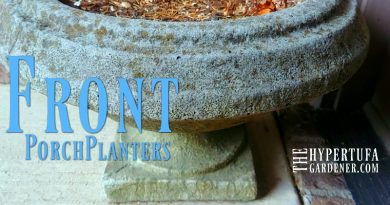 Front Porch Planters - Time to Plant Them for spring and summer