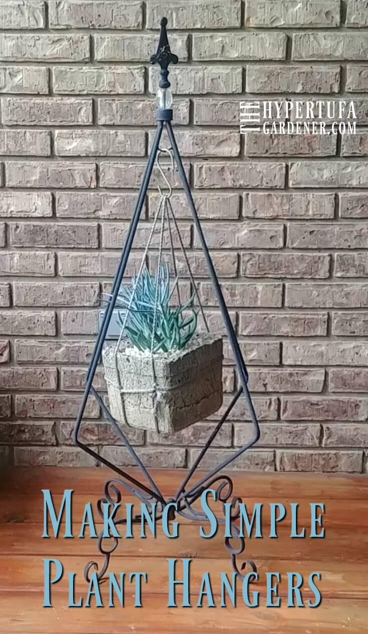 Making Simple Plant Hangers