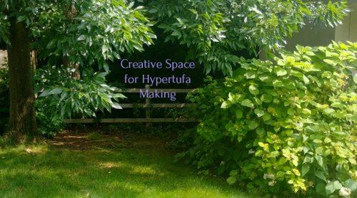 I'm Setting Up Creative Space For Making Hypertufa