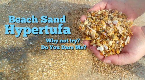 My Beach Sand Hypertufa – This Isn't Supposed To Work?