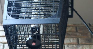 image of electric bug zapper