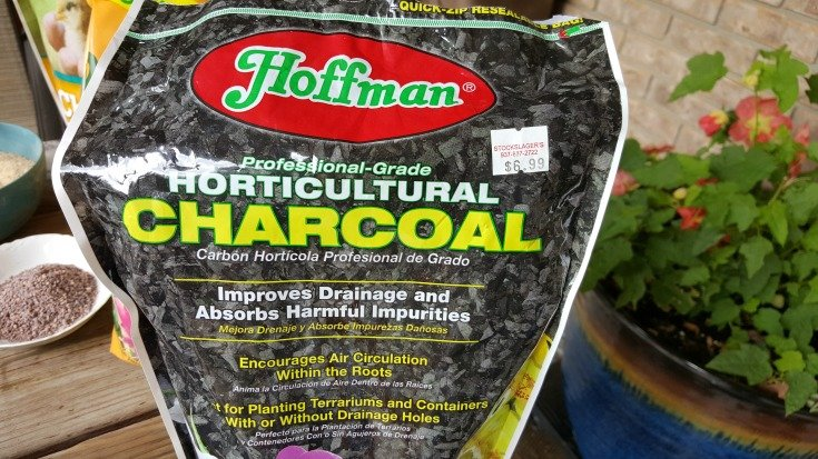 image of bag of Horticultural charcoal