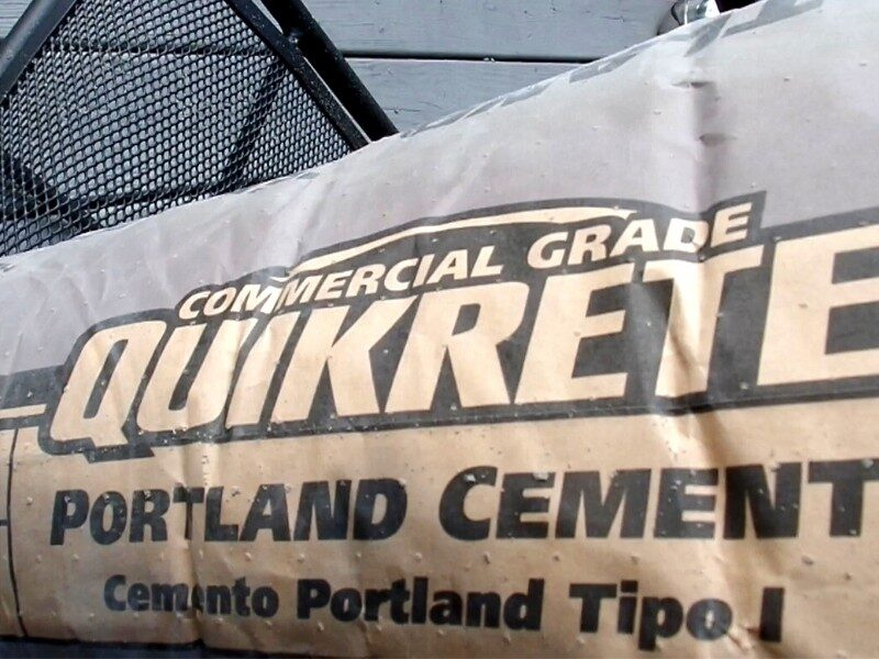 image of logo on Portland Cement bag