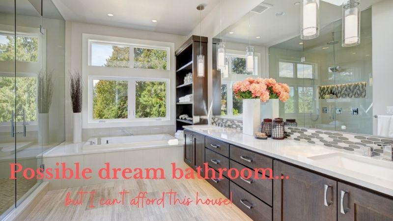 beautiful large bathroom i dream about