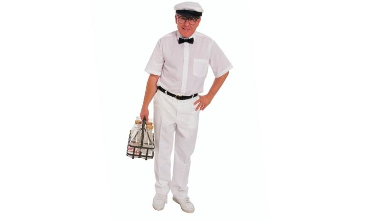 old fashioned milkman